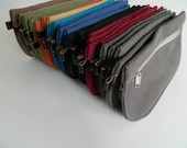 Sale Sale Sale - 30 % Star Buy // Any 3 D- Pouch for USD 21 // Wallet / clutch / cosmetic bag / iphone case / travel / Women / Pouch