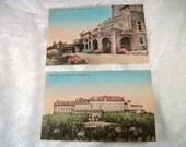 The Inn at Bucks Hill Falls PA - Set of 2 Vintage Postcards - Pennsylvania Souvenir Ephemera