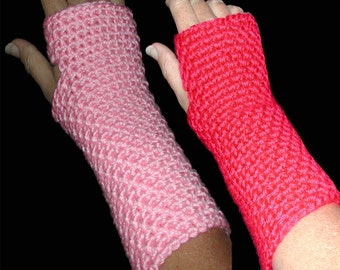 Super Easy Crocheted Wrist Warmer Pattern