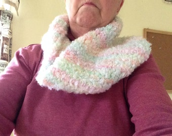 Infinity cowl neck warmer scarf soft and warm