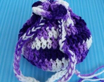 purple dice bag