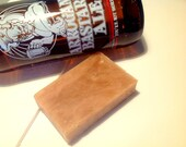 Handmade Olive Oil Beer Soap with Stone Brewing Companies Arrogant Bastard Ale