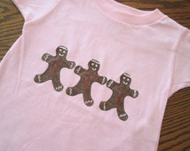 Gingerbread Man or Woman - creepers and t-shirts