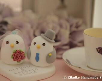 birds Wedding Cake Topper K330)