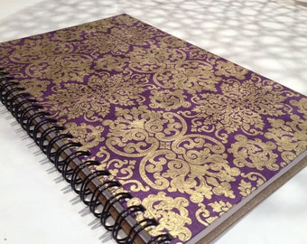 2018 Small Daily Planner - Purple - Appointment Book - CHOOSE YOUR COVER