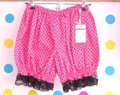 Pink and black Heartbreaker style 2 Bloomers - UK 10 12 14
