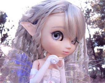 1/6 Delle OOAK Fairy Iridescent wings for Dolls - Butterfly -  Artic Tones