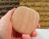 Madrone Wood Music Rattle, teacher gift, eco friendly gift, gift for musician, relaxation gift, childrens music, desk toy, music shaker