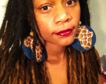 African Jean Nature Earrings