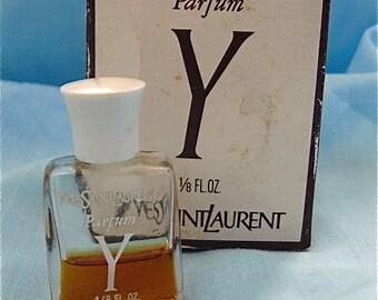 Vintage Yves Saint Laurent Parfum