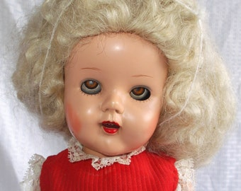 Clearance 1950's Vintage Raving Beauty Doll 19 Inches