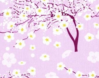 One (1) Yard-Breeze Blossom Iris Fabric Michael Miller DC6141-IRIS-D