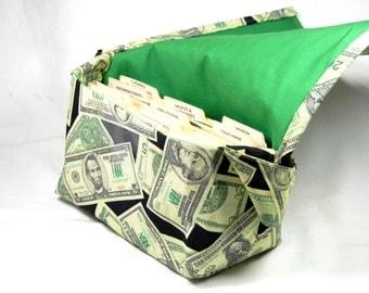 Coupon Organizer Holder, Ready to Ship, Coupon Purse, Coupon Binder,  Mega Large, Money Fabric