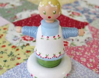 A Little Bit of a Doll Named Lucy - from PATCHWORK TALES - Number 30