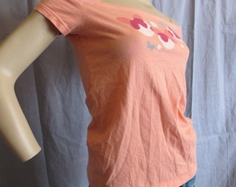 SALE - Upcycled Aero Off the Shoulder Top - Medium (3061)
