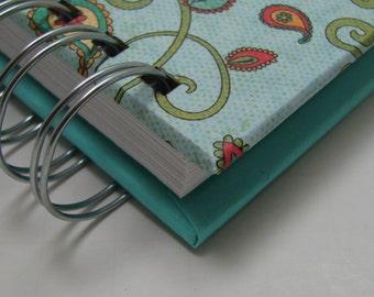 Sermon Notes/ Church Notebook/ Sermon Journal/ Bible Notebook/ Bible Journal/ Sermon Notebook/ Journal/ Christian Gift/ Turquoise Paisley