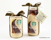 SALE Frappuccino Starbucks Coffee Scented Soy Candles 2 Piece Mr & Mrs Coffee Engagement Gift Coffee Wedding Gift Starbucks Coffee Gift