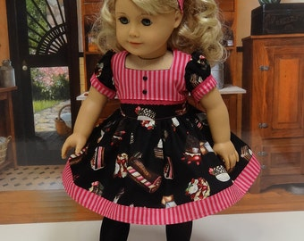 Sweetcakes- vintage style dress for American Girl doll