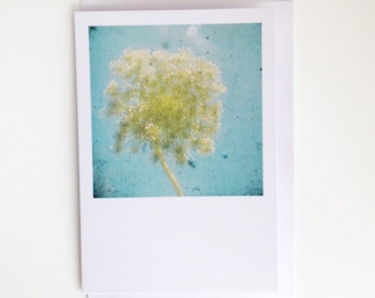 Floral Blank Greetings Card for Her - Ethereal