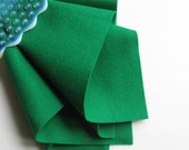 Wool Felt, Emerald Green, Pure Merino Wool, Felt Sheet, Large Felt Square, Craft Supply, Dark Green Felt, Felted Wool, Applique