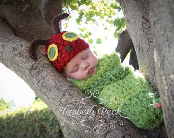 The Very Hungry Caterpillar Crochet Pattern INSTANT DOWNLOAD
