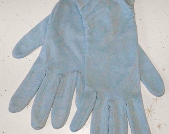 Something Blue 50's 40's vintage gloves