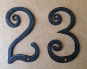House Numbers Metal House Numbers  (GAW)