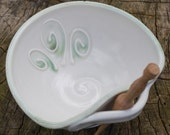 SALE Fern Pate/Sauce Serving Bowl by Bunny Safari