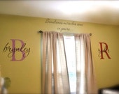 Twins wall decal Miracles Come in Pairs 085