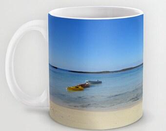 Bahamas Blue Sky Beach Color Photo Mug Nature 11 oz.