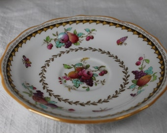Vintage Spode Bone China England - Rockingham Saucer for footed cup - Y5194