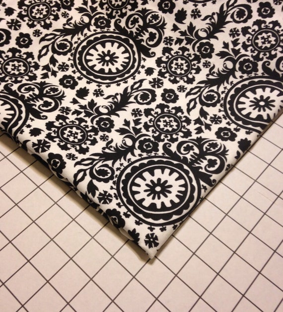 SALE Pet Bed Cover Only Black and White Round