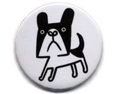 French bulldog - 1 button