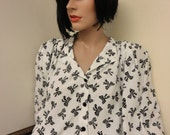 1990's Bow Blouse Size 22