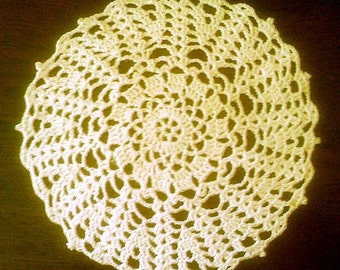 Ecru Little Doily