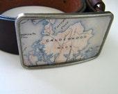 Vinalhaven Maine belt  buckle