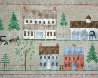 Meeting House Road historic sampler