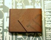 Branded Mini Leather Journal - Mini Pocket Notebook