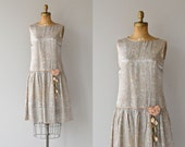 Tenderfoot dress | vintage 1920s dress • silk floral 20s dres