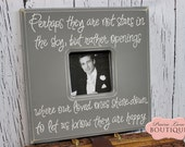 Bereavement Gift, In memory, Stars In The Sky, 12 x 12 Picture Frame, In loss of