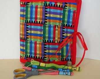 Crayons Armchair Sewing Caddy, Hand Sewing Organizer