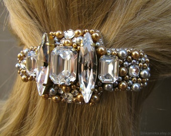 Swarovski  Hair Barrette