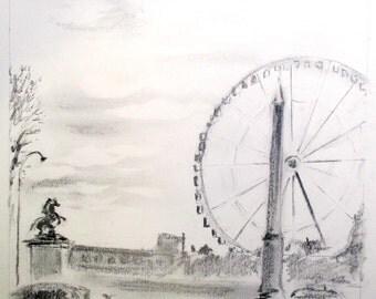 Paris Sketch