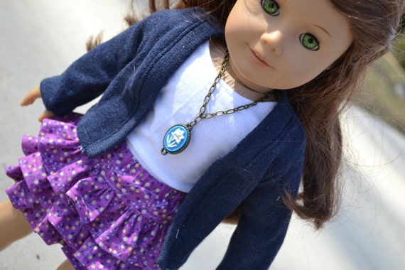 American Girl Doll Clothes - Twilight Comfy Cardigan - NAVY