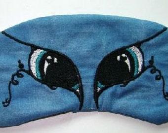 Animal Eyes Embroidered Sleep Mask