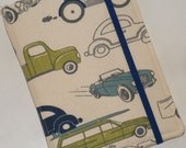 Kindle Paperwhite Cover, Hard Cover, Kinde Fire, Mini iPad, Retro Trucks, Cars and Motorcycles eReader Cover
