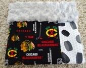 NHL Chicago Blackhawks Rally Blanket / Security Blanket Lovey