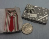 Holiday Sale 40% Off - Mini Gift Box with Shirt and Tie - 3