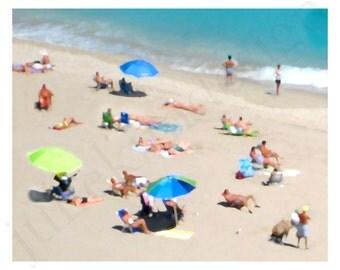 PRINTABLE Miami Beach PDF 8x10