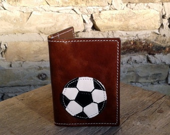 Credit Card Wallet For 4 Credit Cards With Football / Soccer Ball - FREE Shipping Worldwide - Credit Card Holder - ID card holder
